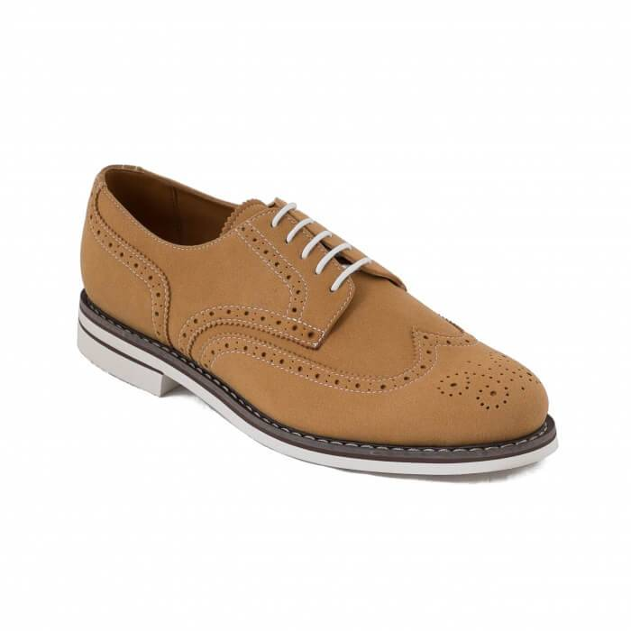 NAE vegan shoes Herenschoen Lito Camel
