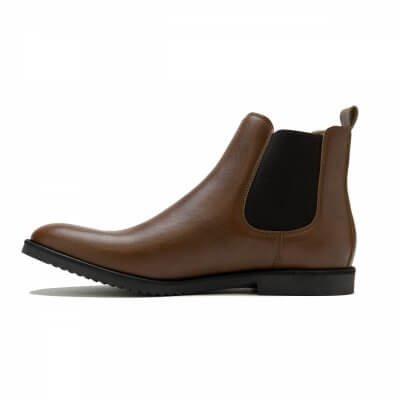NAE vegan shoes Heren Enkellaars Mesa Brown