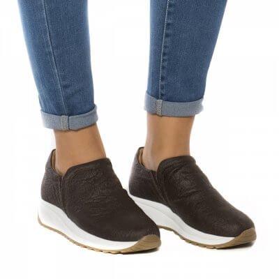 NAE vegan shoes Sneaker van ananasleer Veka