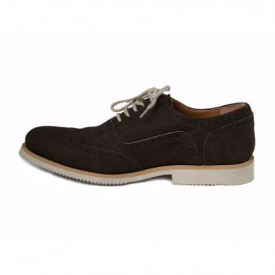 NAE vegan shoes Heren Veterschoen Urban Brown