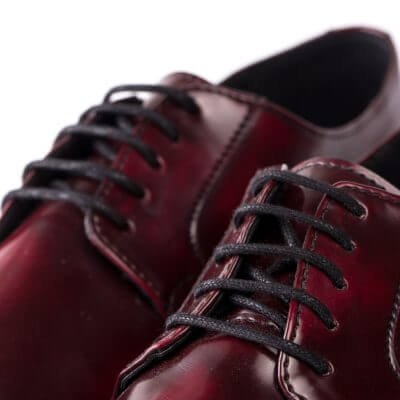 NAE vegan shoes Veterschoen Justin Bordeaux