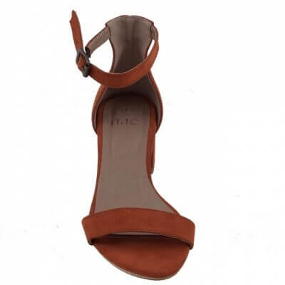NAE vegan shoes Vegan sandaal Irene Orange
