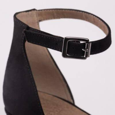 NAE vegan shoes Vegan sandaal Linda Black