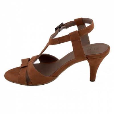 NAE vegan shoes Vegan slingback sandaal   Bona   Brown