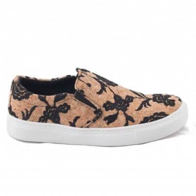 NAE vegan shoes Vegan sneaker Bare cork