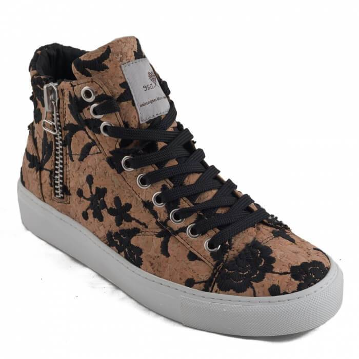 NAE vegan shoes Sneaker Cork Milan