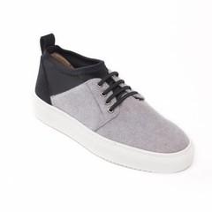 Lage vegan sneaker Re-Pet Grey