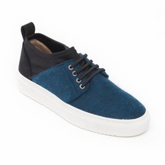 Vegan sneaker Re-Pet Blue