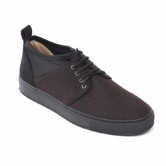 vegan veterschoen re-pet black