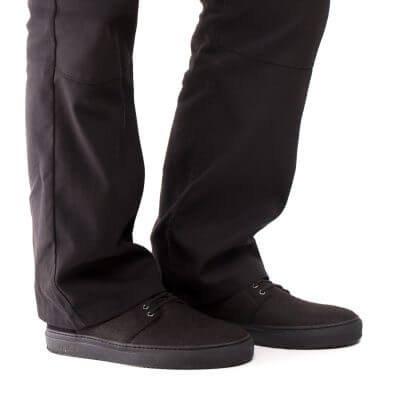 NAE vegan shoes vegan veterschoen re-pet black