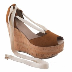 Vegan pump Mireia Cork