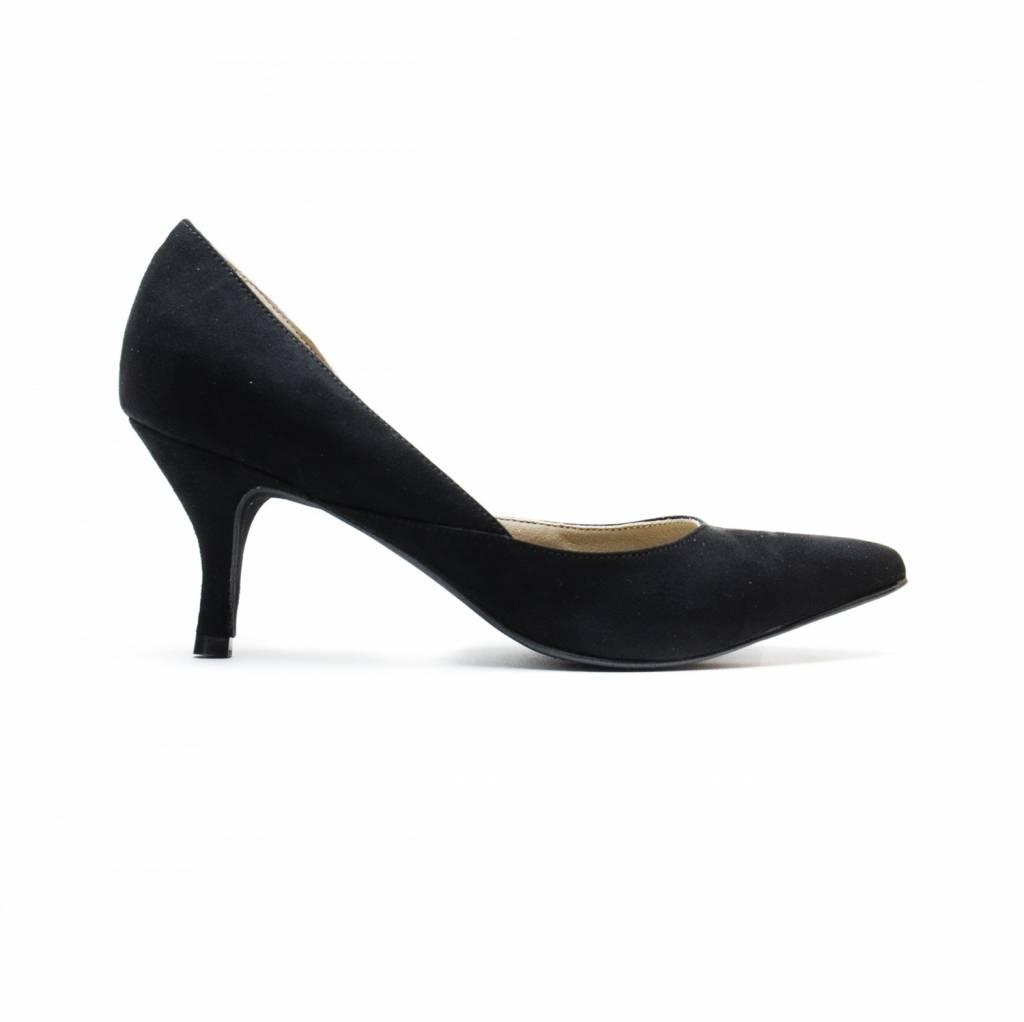 NAE vegan shoes Duurzame pump Nina zwart