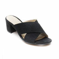 Duurzame sandaal Anita zwart