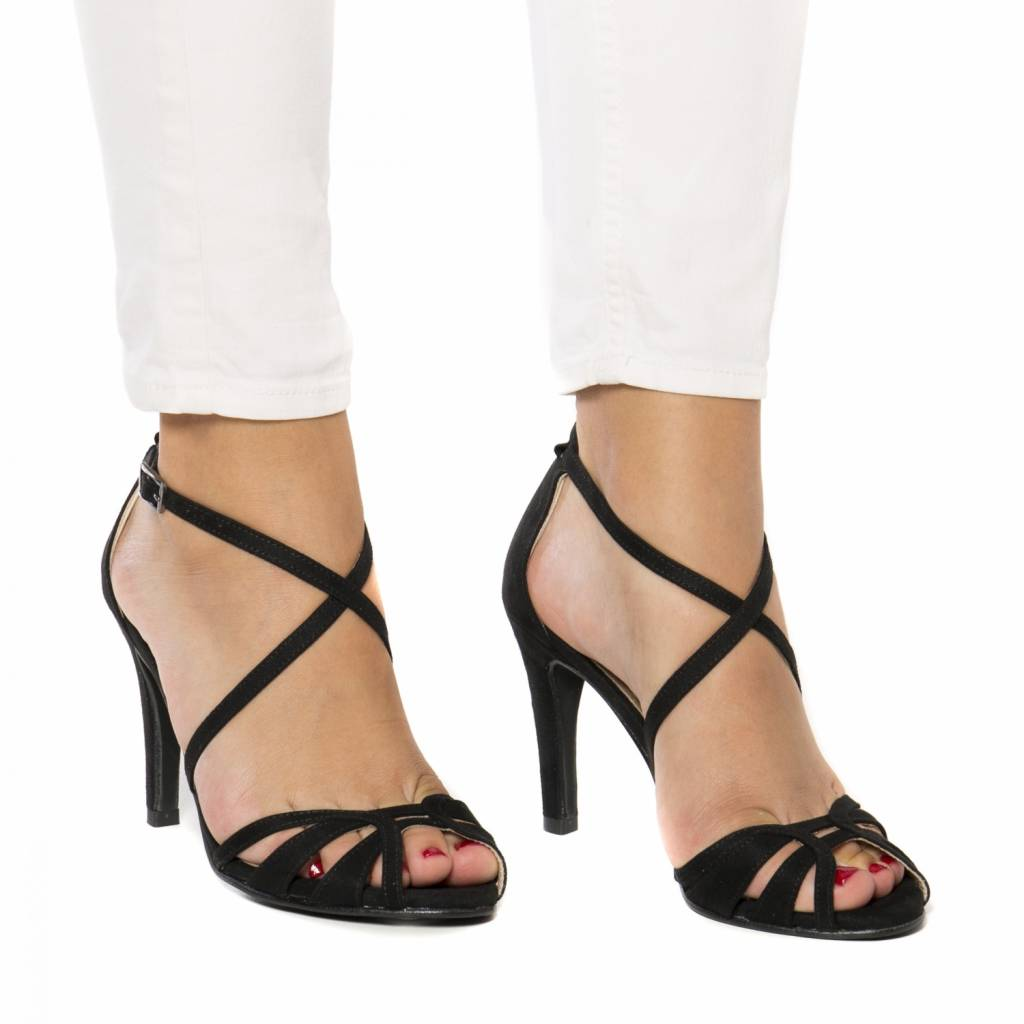 NAE vegan shoes Sandaal Adri zwart