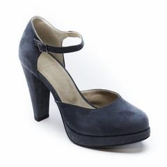 Sandaal met hoge hak Erica grijs
