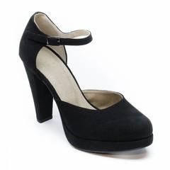 Sandaal met hoge hak Erica zwart