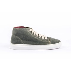 Hennep sneaker Scout grijs/groen