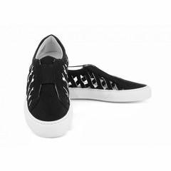 Sneaker Elie Suede Zwart