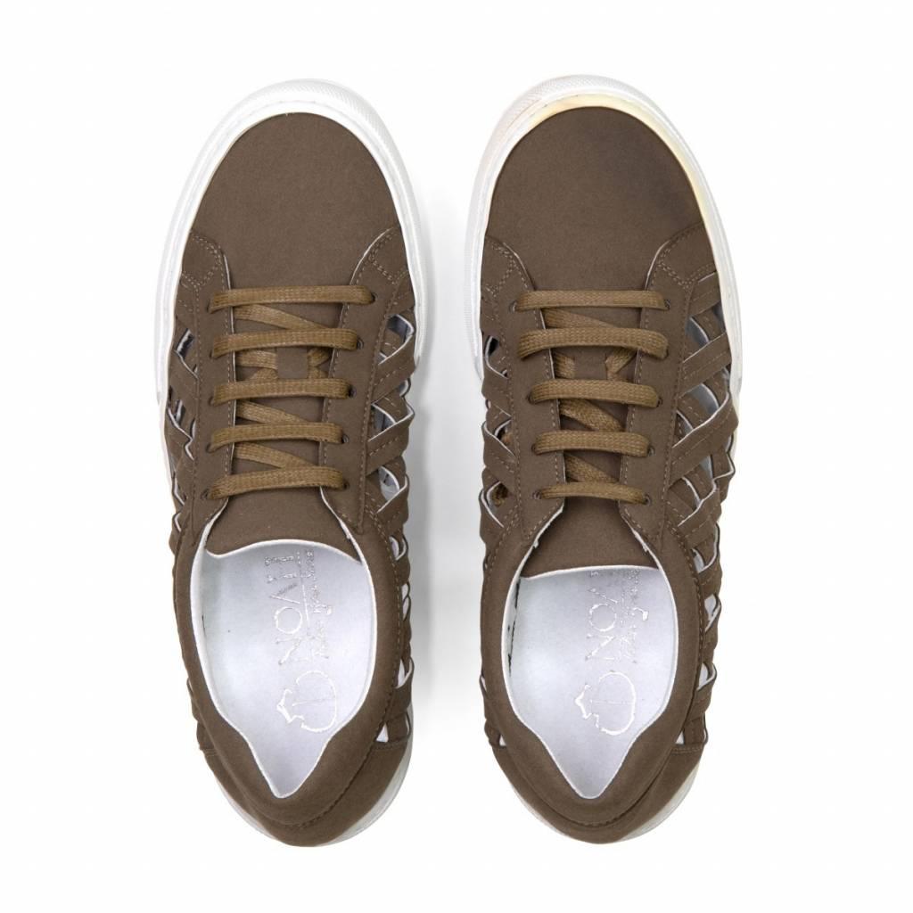 NOAH Sneaker Charlie Suede Taupe
