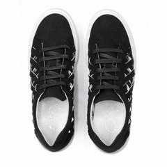 Sneaker Charlie Suede Zwart