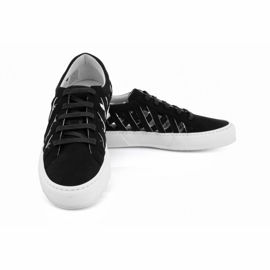NOAH Sneaker Charlie Suede Zwart