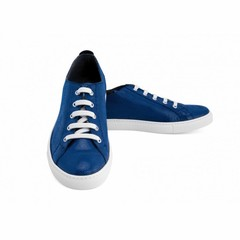 Sneaker Dominique Suede Blauw