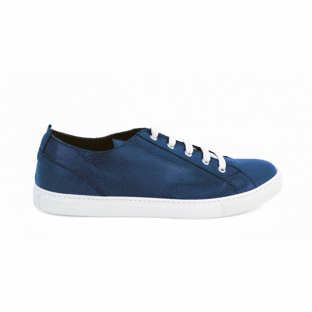NOAH Sneaker Dominique Suede Blauw