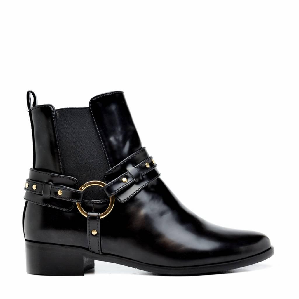 NAE vegan shoes enkellaarsjes met hak Nius