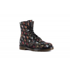 Vegan boots Flowers