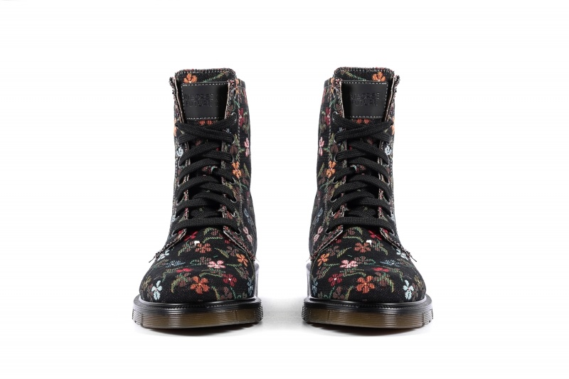 Risorse Future  Vegan boots Flowers