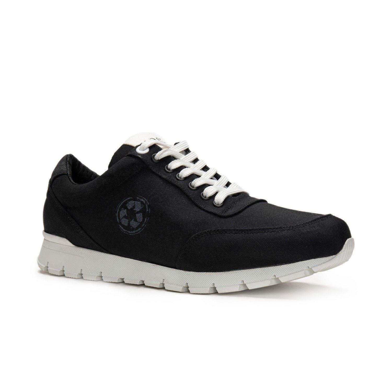 NAE vegan shoes Nilo Zwart oxford sneakers oceanclean