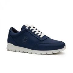 Nilo Blue oxford sneakers oceanclean
