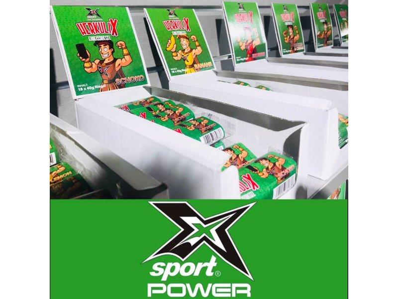 X-Sport® POWER  HerkuliX  Eiweissriegel 30%