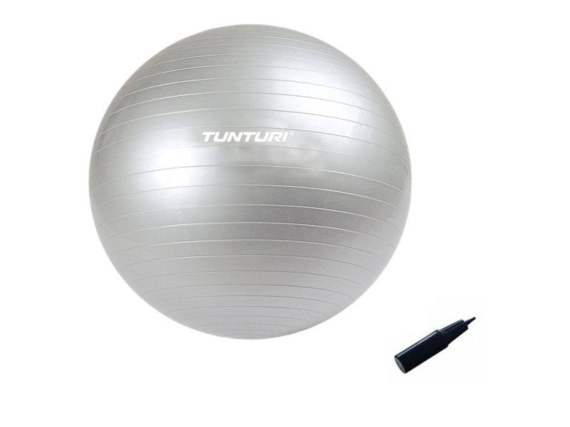 Tunturi Gymball silber mit Pumpe