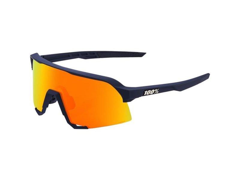100% S3 Hiper Mirror Lens Sonnenbrille soft tact flume