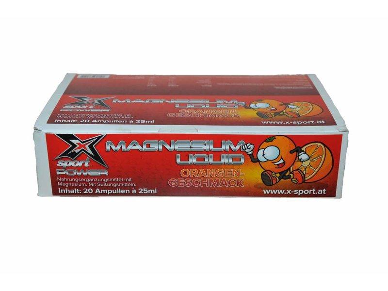 X-Sport® POWER Magnesium liquid Ampullen