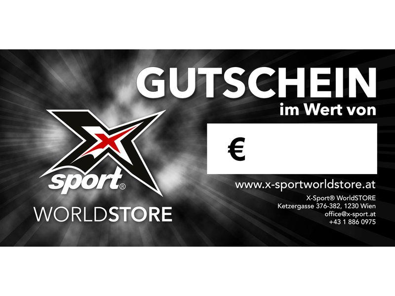 X-SPORT® Geschenkgutschein