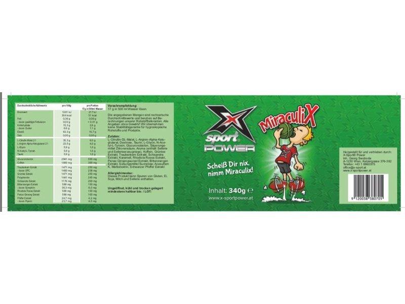 X-Sport® POWER MiraculiX Pre-Workout Booster 2+1 Aktion#baumabräumen