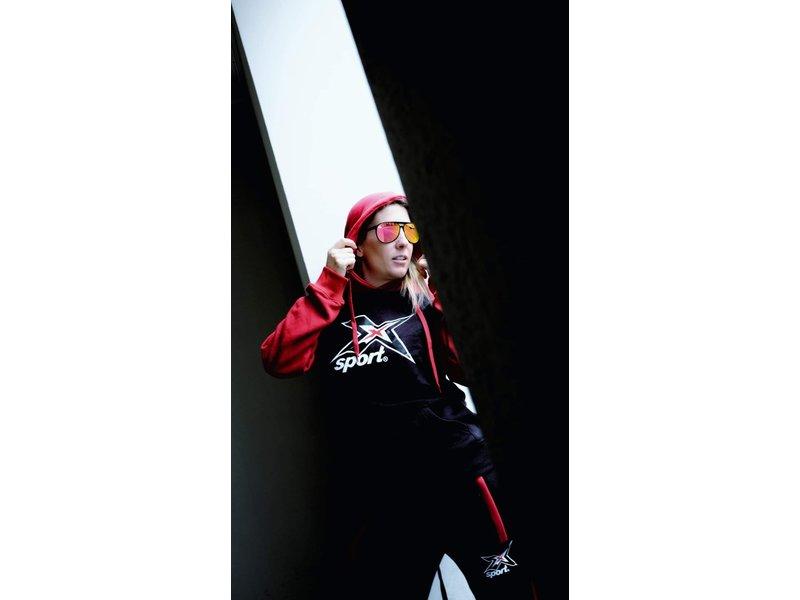 """X-SPORT® X-Sport Worldstore Trainingsanzug """"Road to Kona"""" rot"""