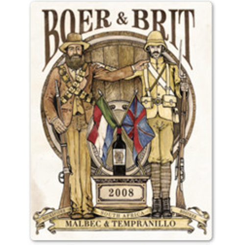 Boer & Brit Bob's Your Uncle red brew - Rode wijn
