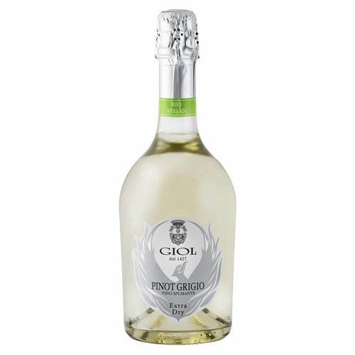 Giol Pinot Grigio extra dry spumante - Mousserende wijn