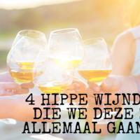 4 hippe wijndingen die we deze zomer allemaal gaan doen