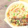 Spaghetti Bolo (Pastasaus met draadjesvlees)
