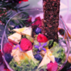 Herfstsalade met blauwe kaas en abrikozen dressing
