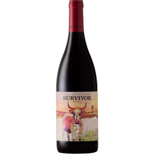 Survivor Barrel Select Pinotage - Rode wijn