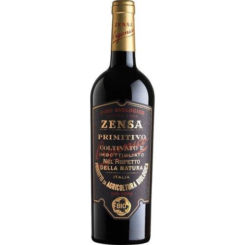 Zensa Primitivo Puglia IGP Bio - Rode wijn
