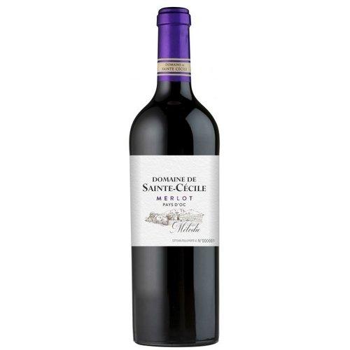 """Dom de Sainte Cécile Cécile """"La Mélodie"""" Merlot 2018 - Rode wijn"""
