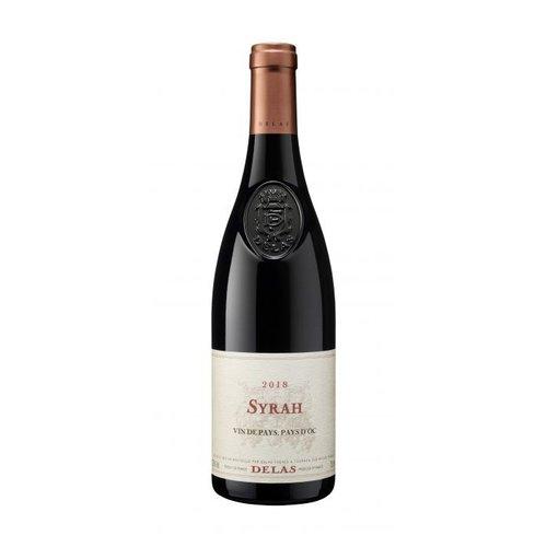 DELAS FRÈRES Syrah Vin de Pays Coteaux L'Ardèche - Rode wijn