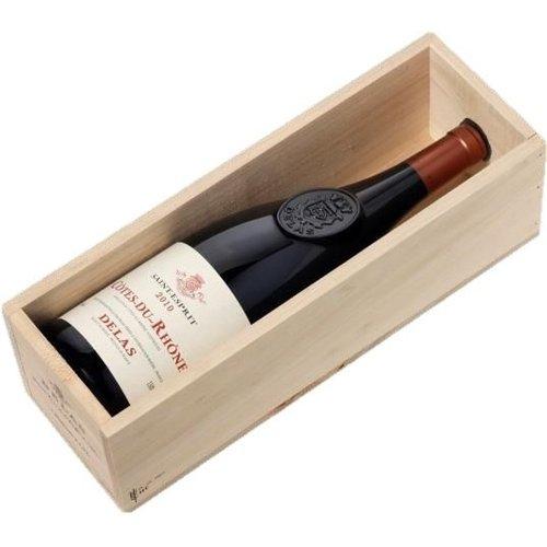 DELAS FRÈRES 'Saint Esprit' Rouge AOC Magnum in Kist - Rode wijn