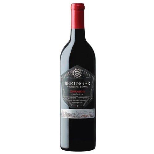 Beringer Founders Estate Zinfandel - Rode wijn